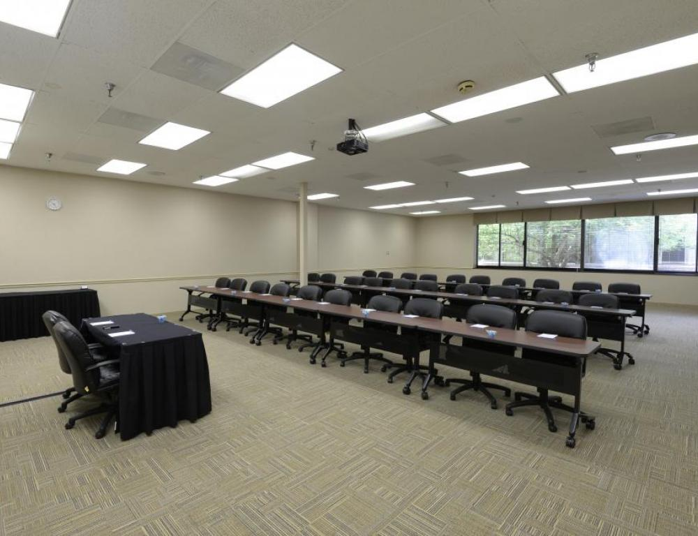 Bridge Room Meeting Room setup Classroom Style