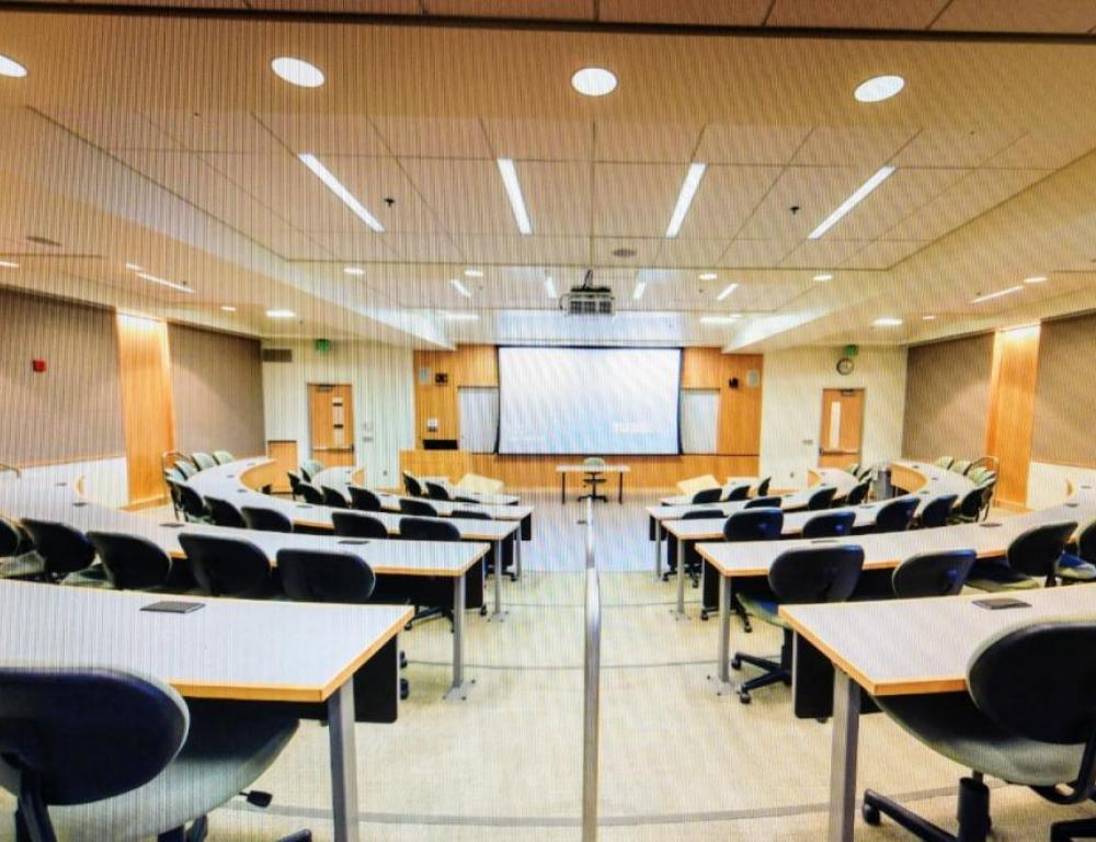 Tiered Classroom in Liberal Arts Building