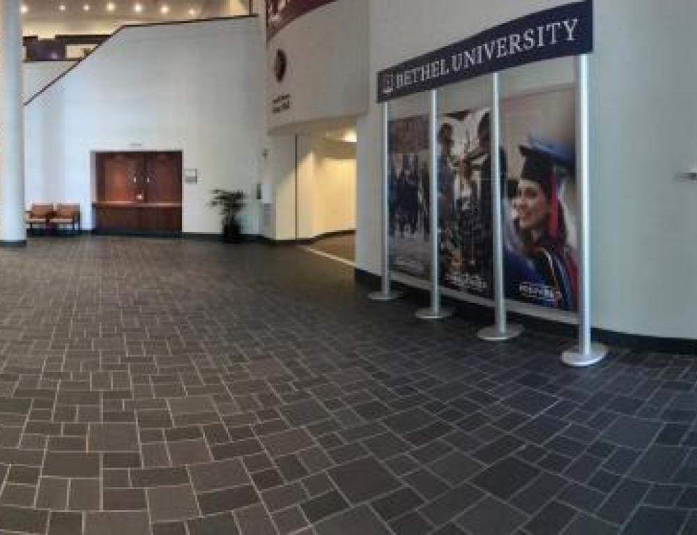Spacious Lobby in the Community Life Center