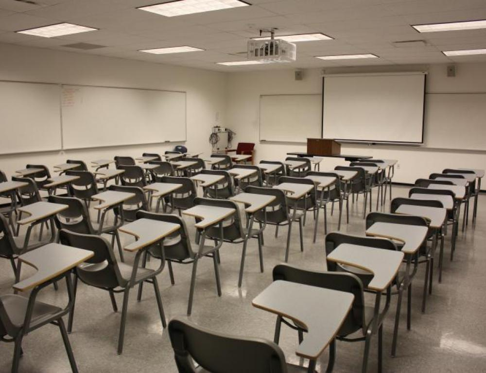 One of our many state of the art classrooms