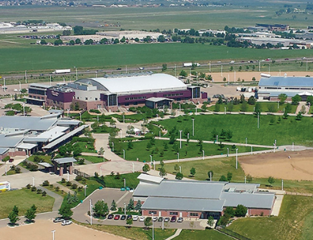 Aerial Photo of The Ranch Campus