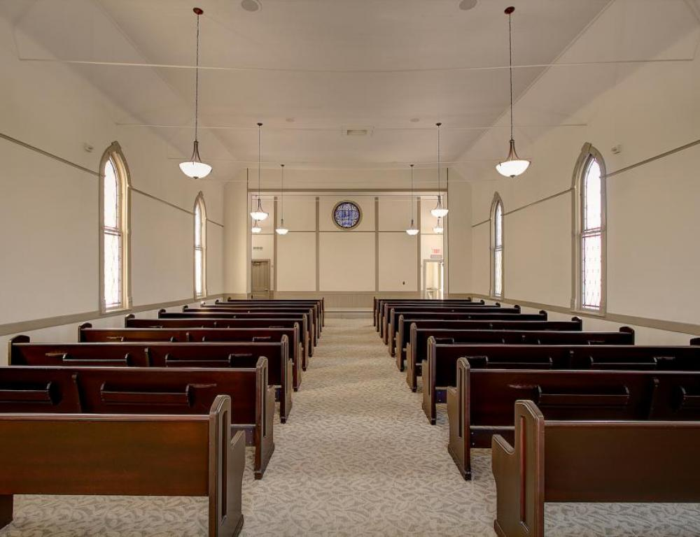 Celebrate your Wedding at our Historic Post Chapel