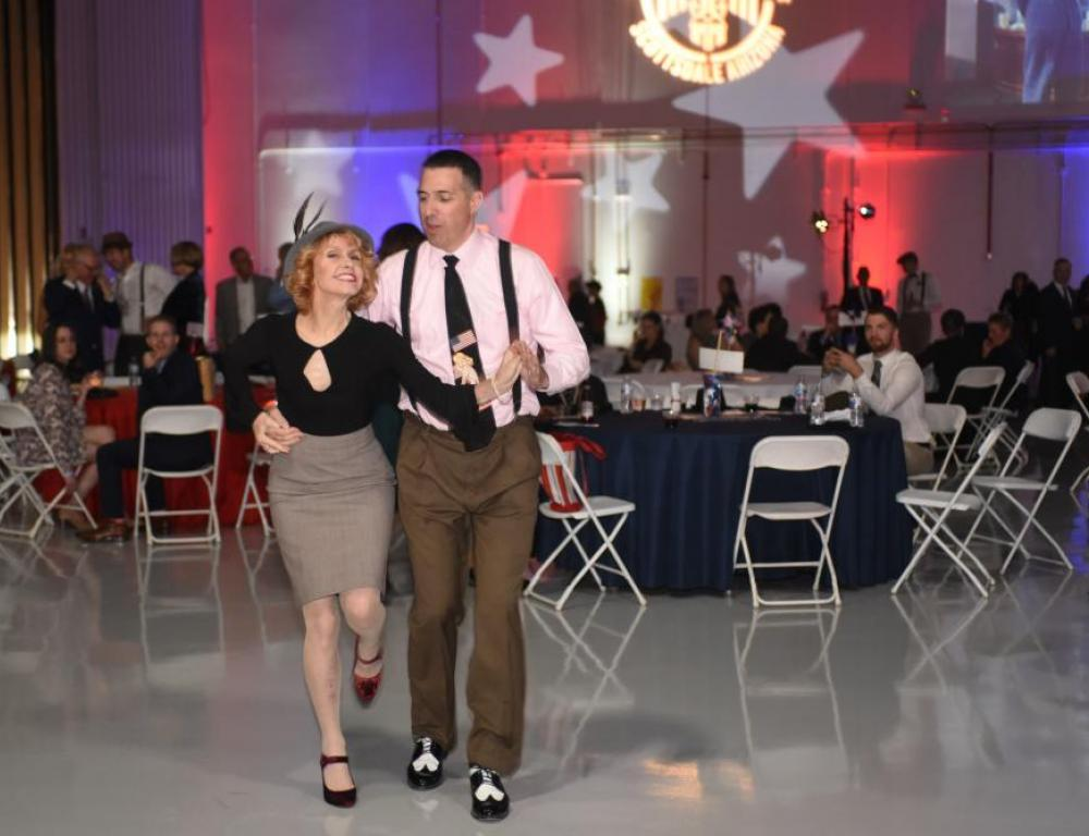 US Military Swingtime party