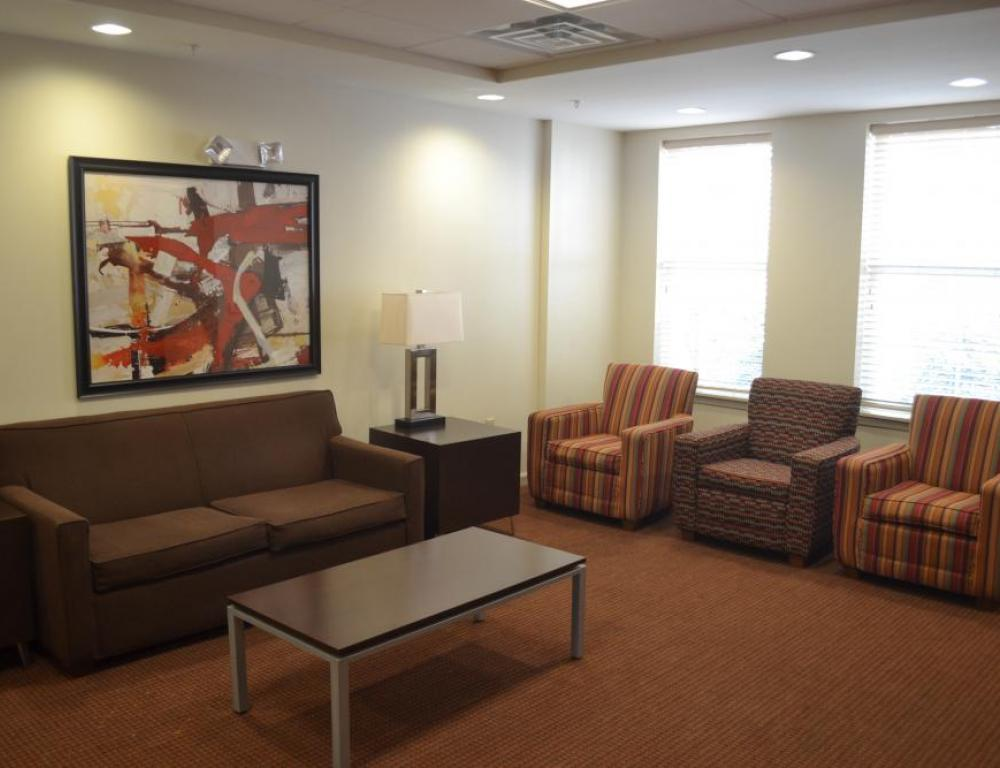 TV Room in Residence Hall