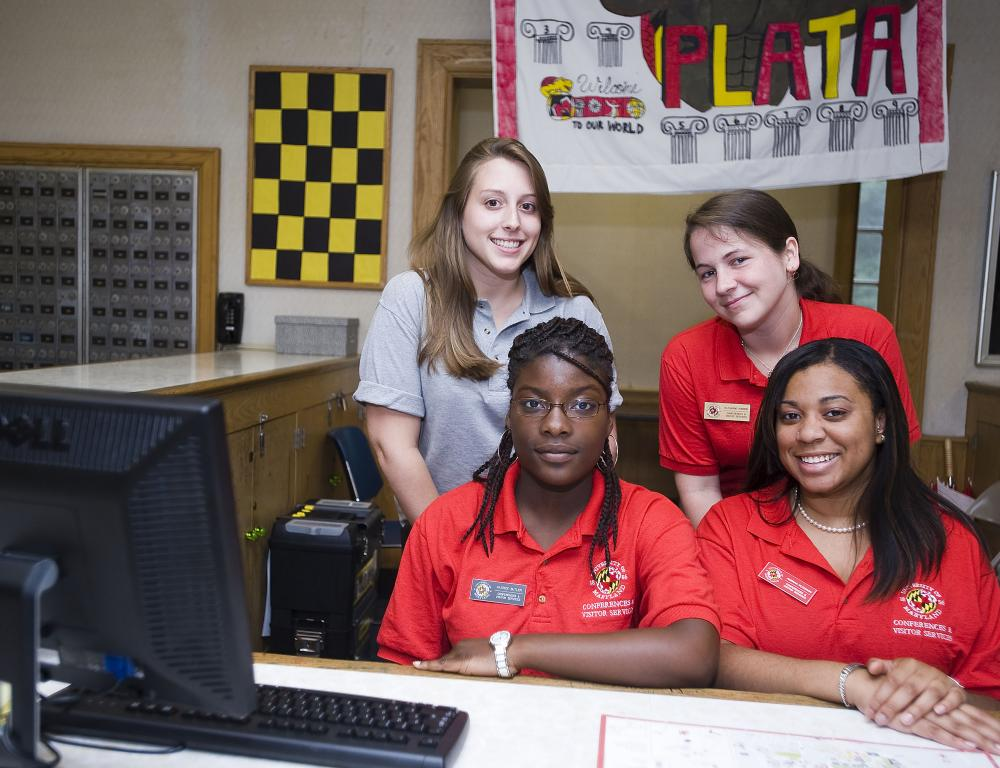 Residence Hall Service Desk - Hospitality assistants always at your service!