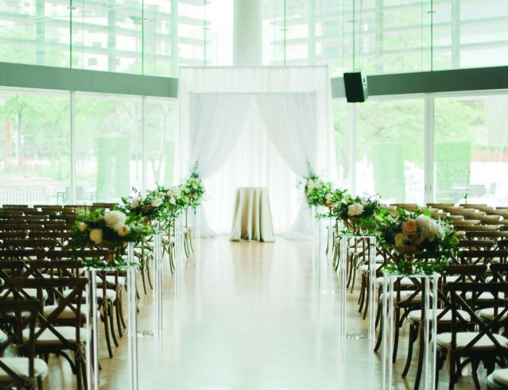 Target Atrium - Wedding Ceremony