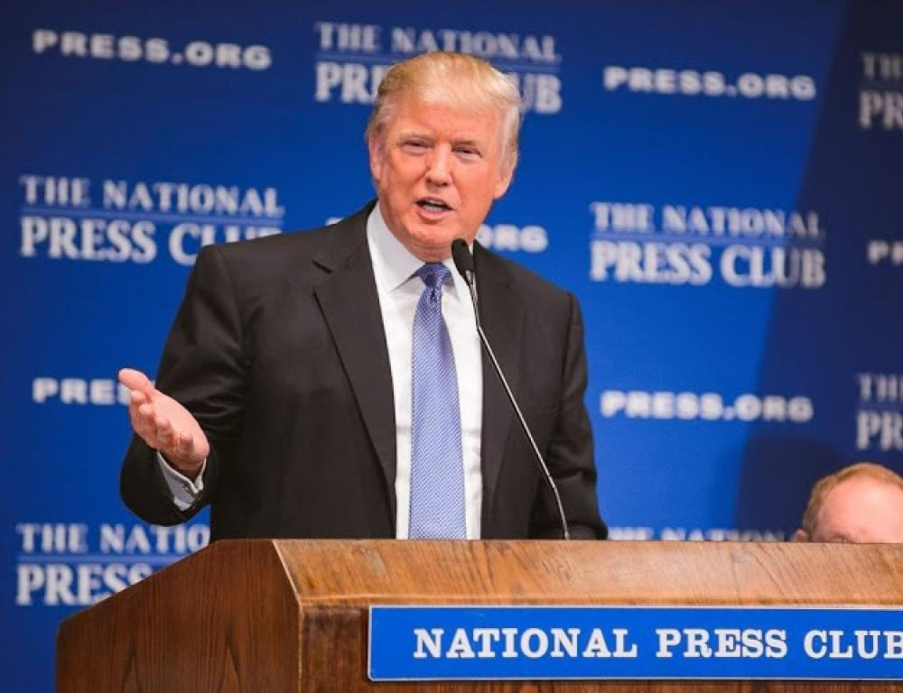 Donald Trump at The National Press Club