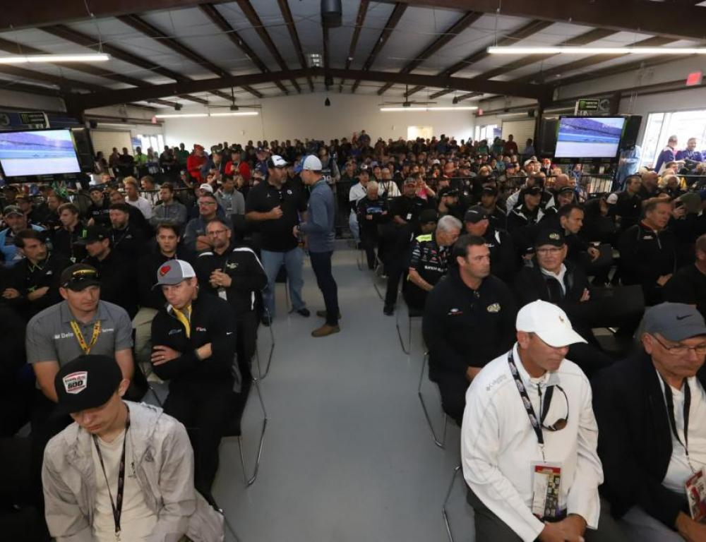 Drivers Meeting Room