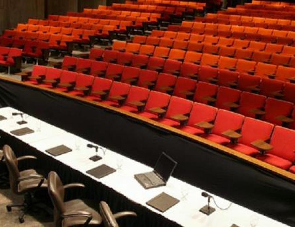 Benton Auditorium - Seating for up to 450