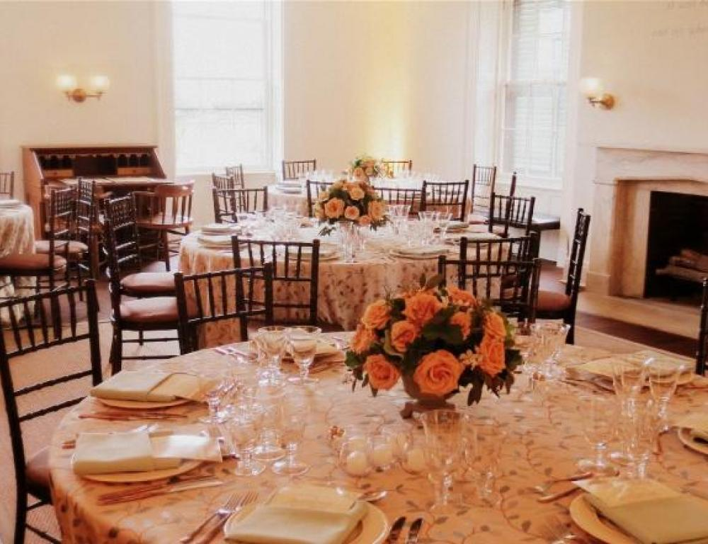 The Emancipation Room is perfect for dinners with board members or key stakeholders.