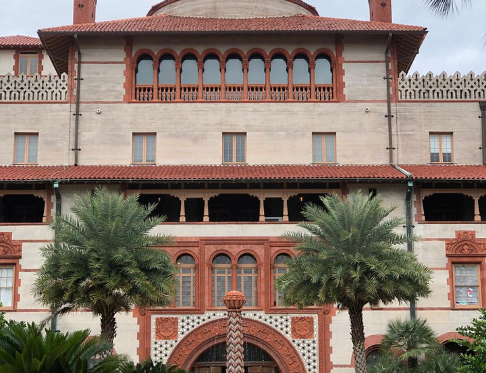 Flagler College, Ponce Hall Courtyard