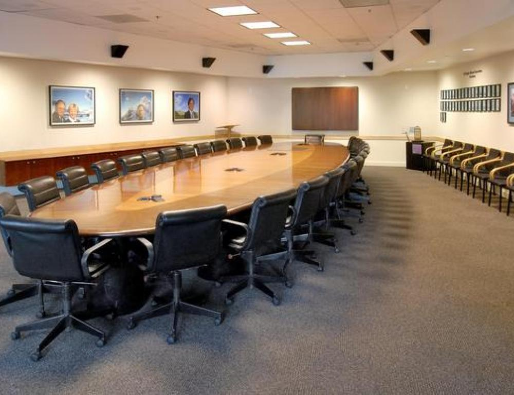 Founder's Boardroom - Host meetings and workshops in this stately space