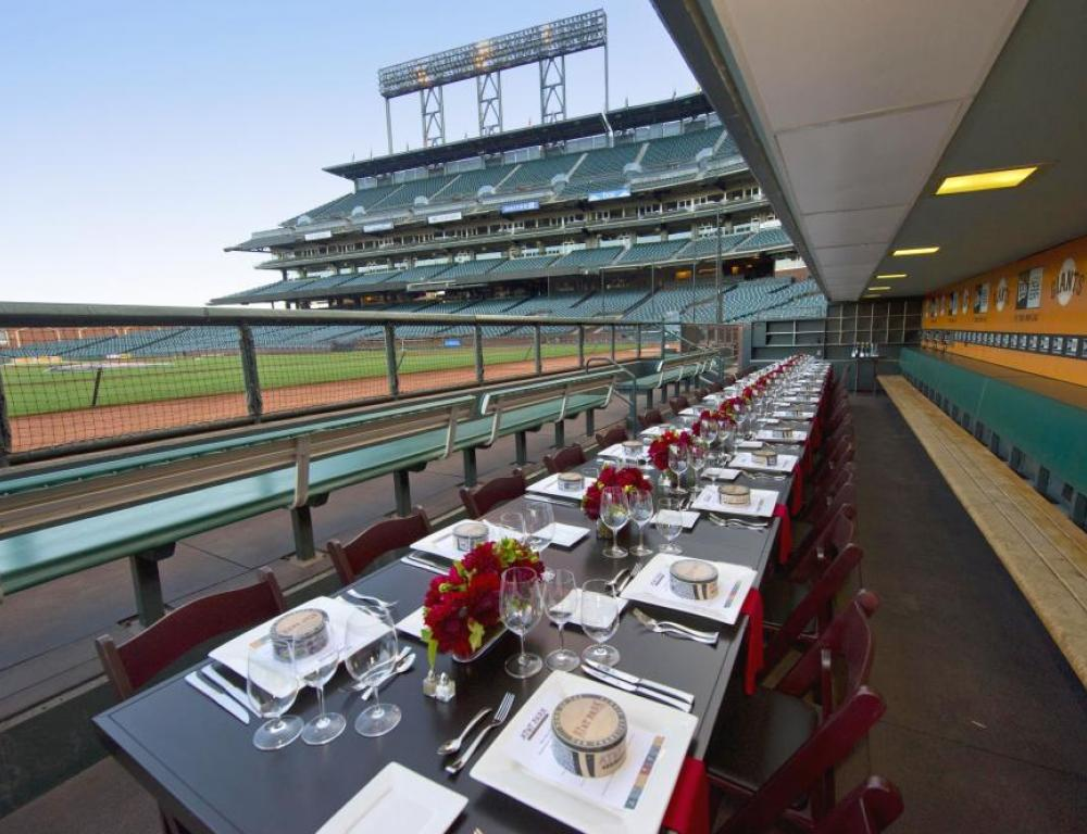 Giants Enterprises Dugout Dinner