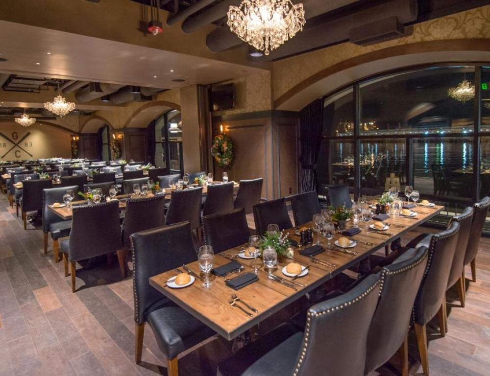 Exclusive VIP dinners at the Gotham Club