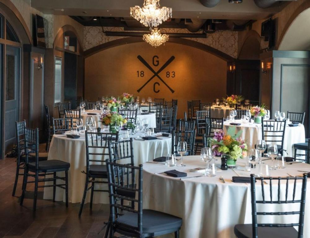 Special parties and receptions at the Gotham Club