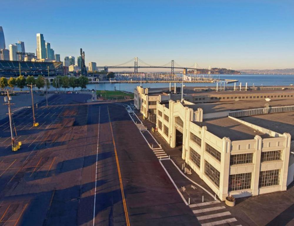 Choose Pier 48, a historical, waterfront landmark for your next large event