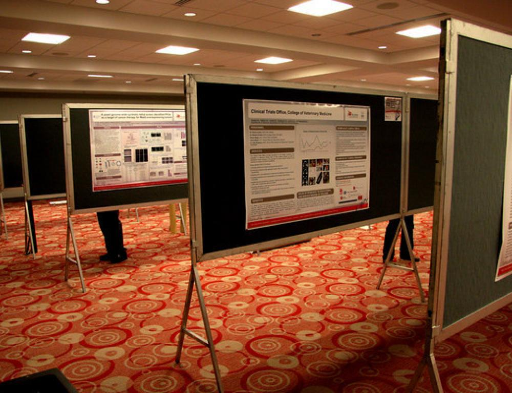 Poster Session Event Space for Conferences