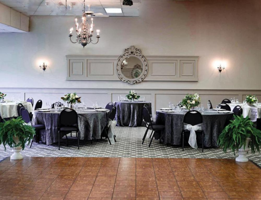 Receptions and banquets held at The Carriage Room