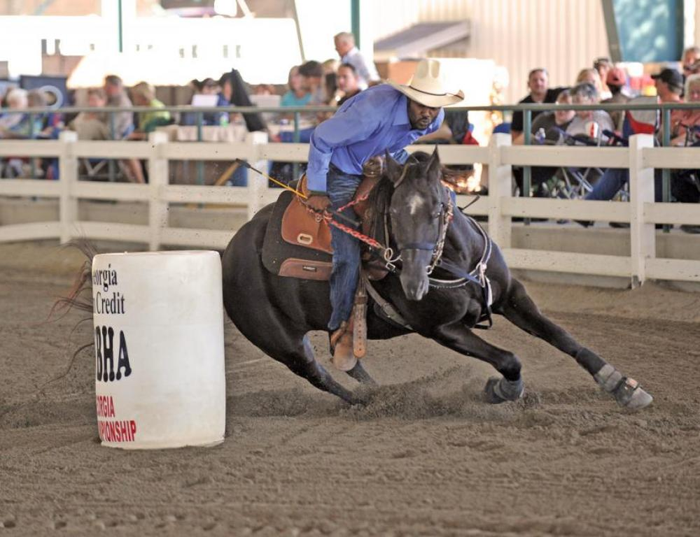 Bill Pickett Rodeo held at the Charles C. Walker Arena