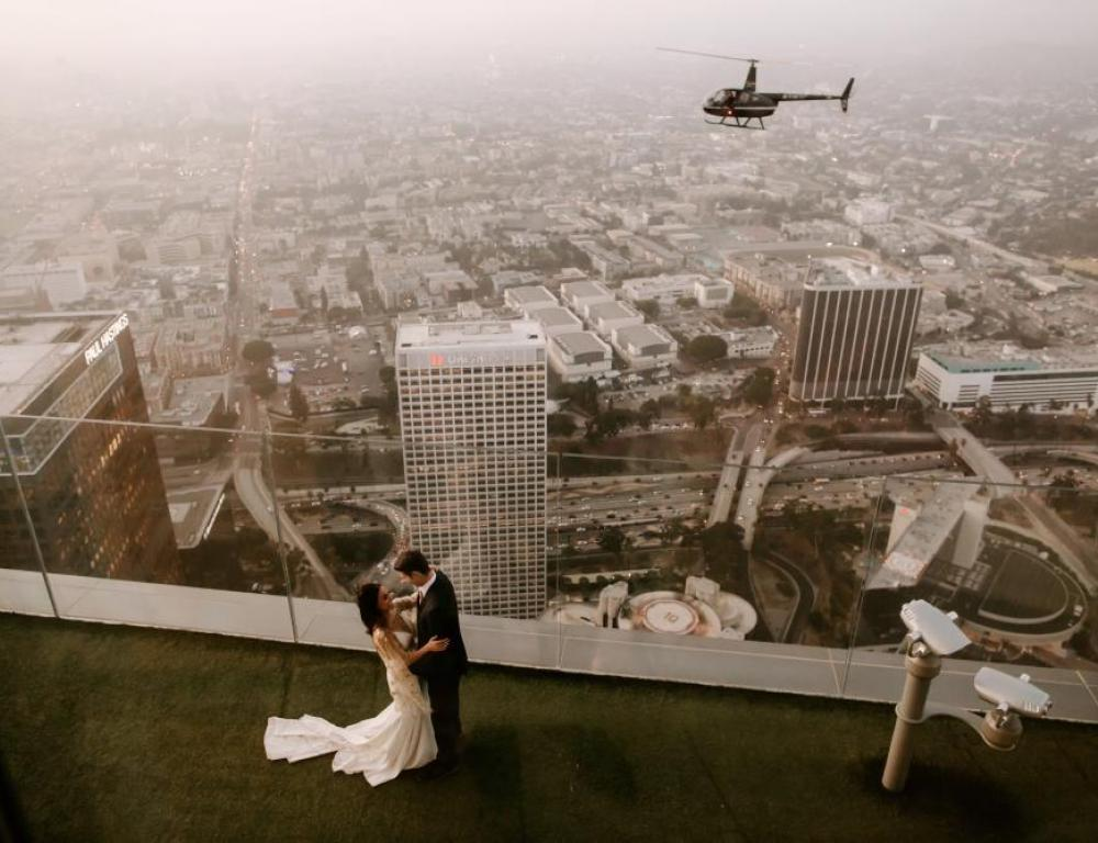 You can also book your wedding or marriage proposal at Skyspace!