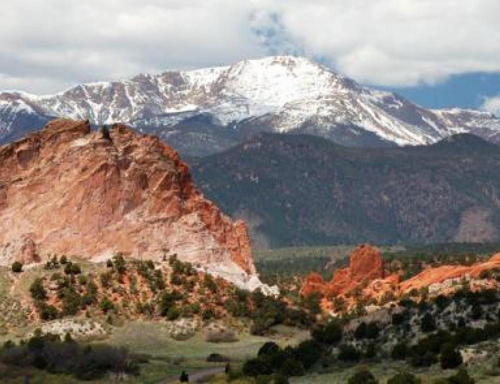 Garden of the Gods is 15 minues from the campus