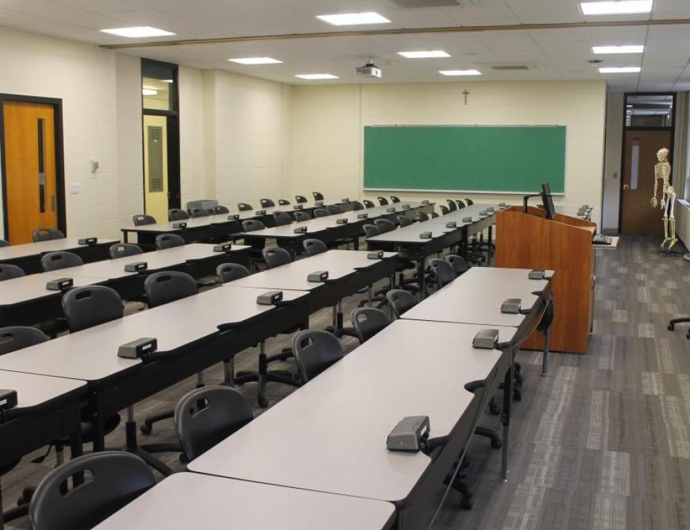 Goulet Science Center Classroom