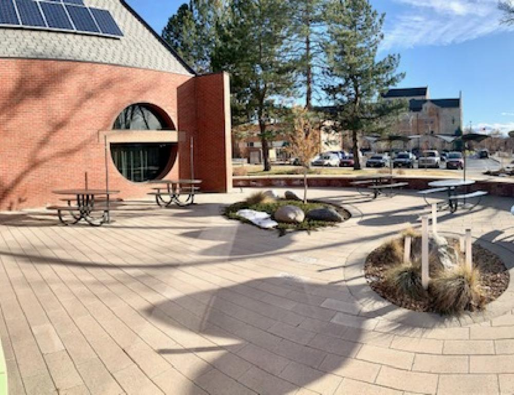Schlessman Commons Patio 2