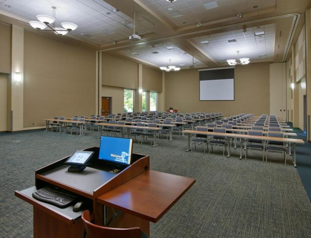 Great Room with Podium
