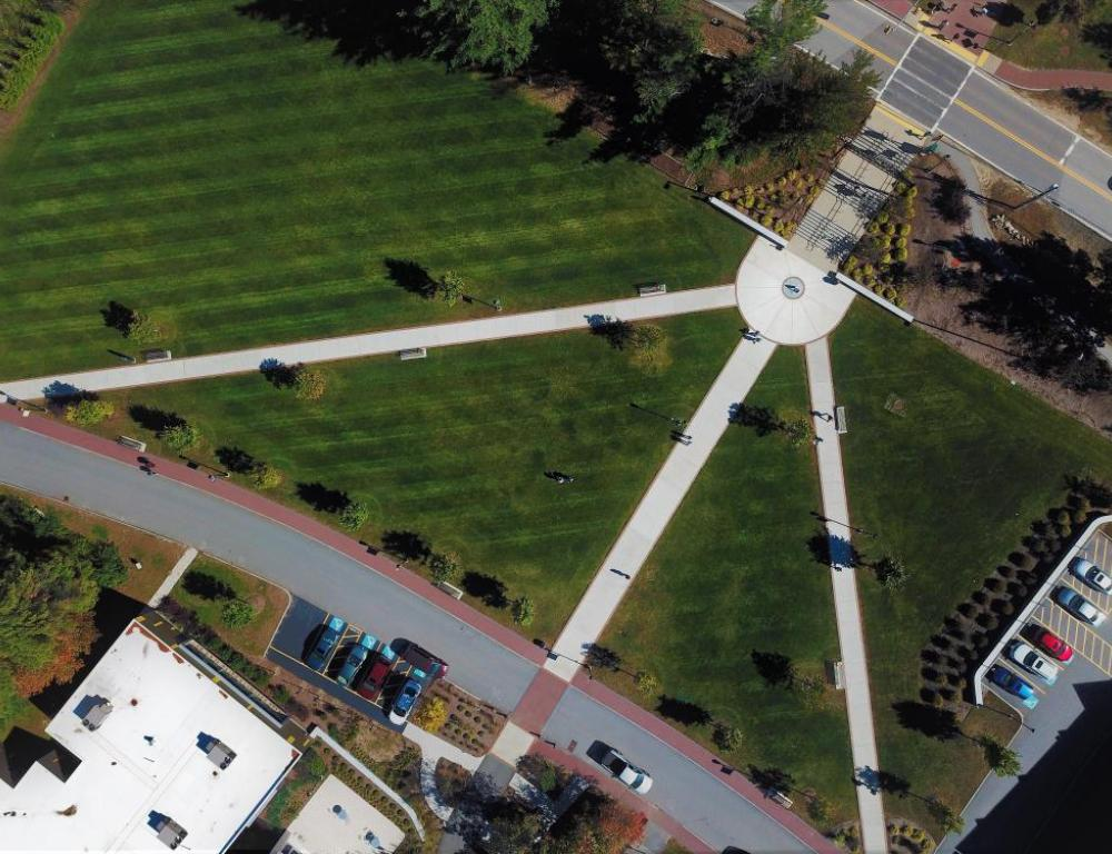 Green Space Aerial View