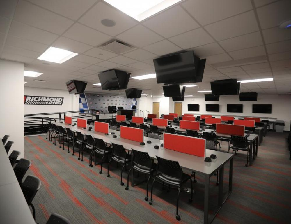Virginia Business Systems Media Center Deadline Room