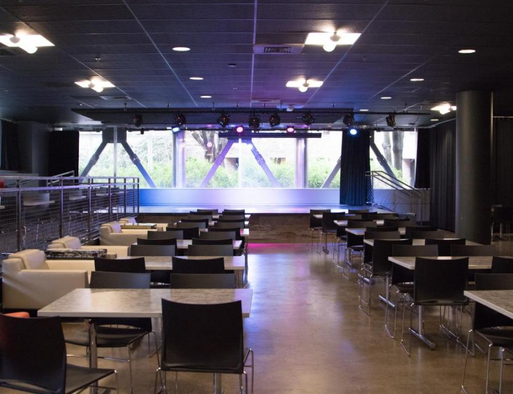 101 Parkway North: An intimate performing/speaking space in Smith.