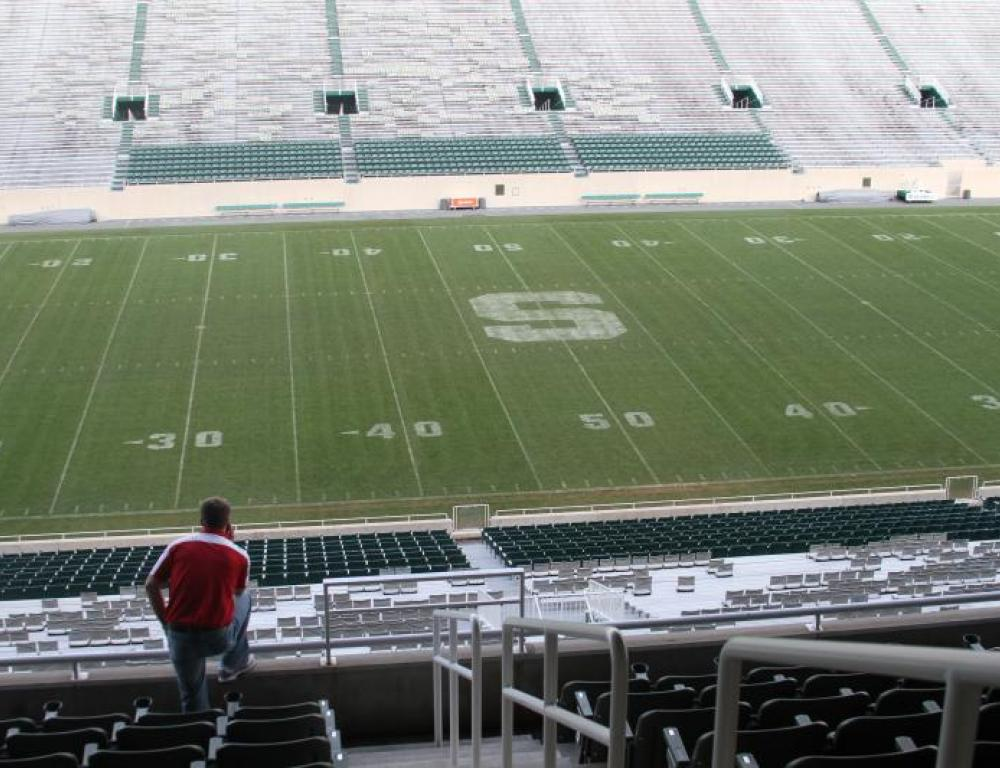 Have a reception overlooking the field at Spartan Stadium