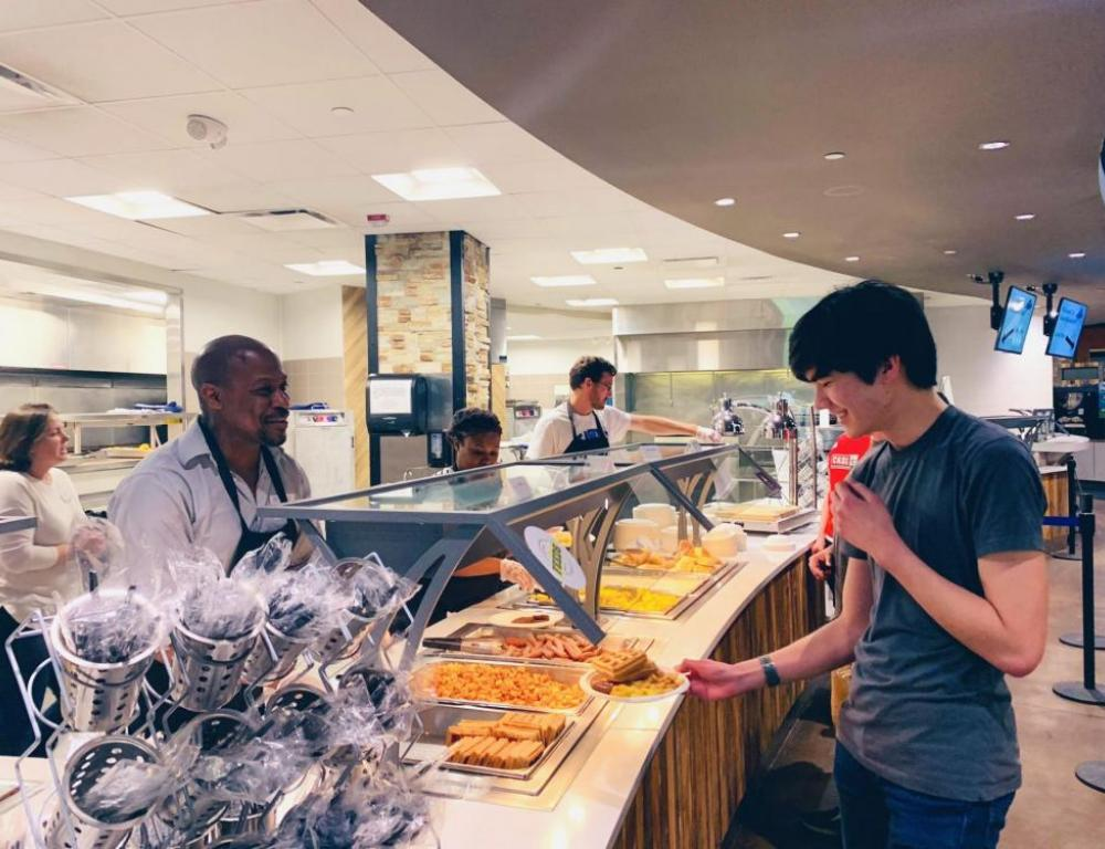 Brown Dining Hall