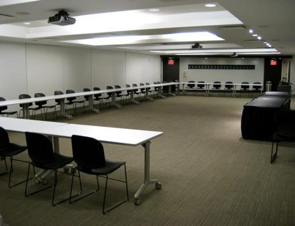 Presentation Room A (U-shaped conference setup)