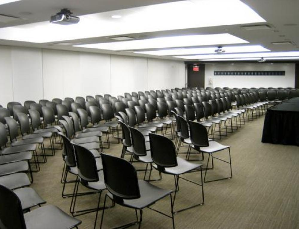 Presentation Room A (row seating setup)
