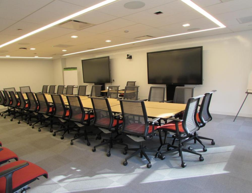 NYC ILR Conference Center - boardroom set up