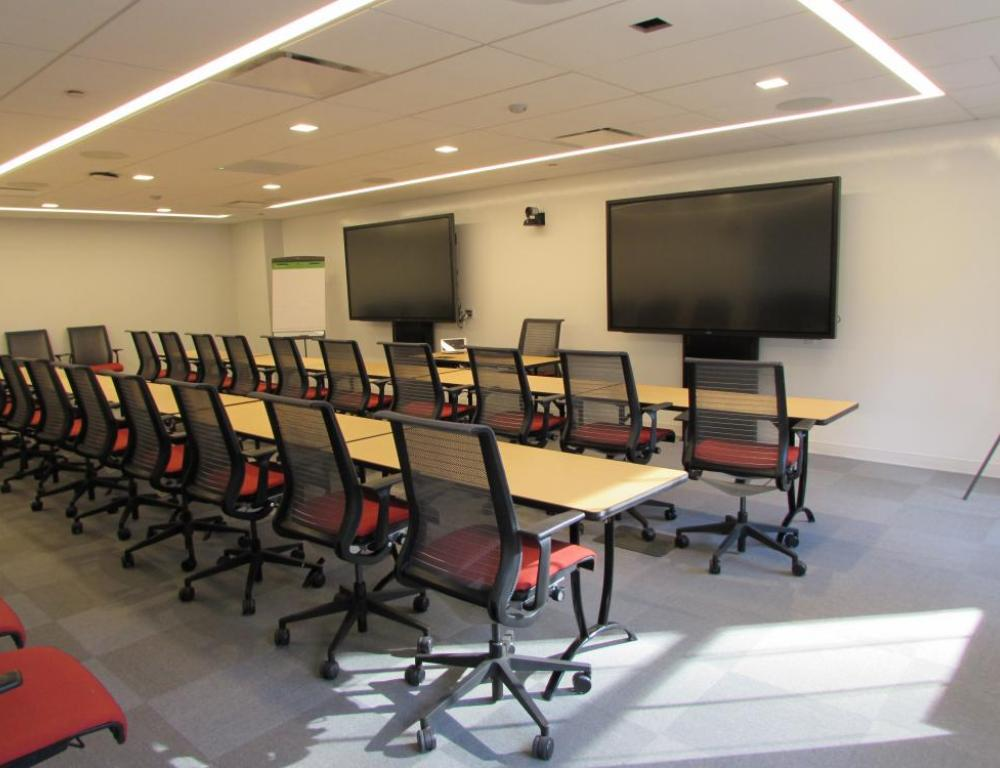 NYC ILR Conference Center - classroom set up