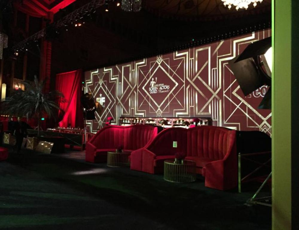SAG Awards 2016 After Party - after party on stage of the Auditorium for 1200 people