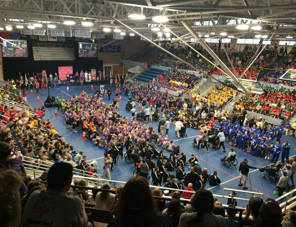 Keaney Gym, RI Special Olympics State Games