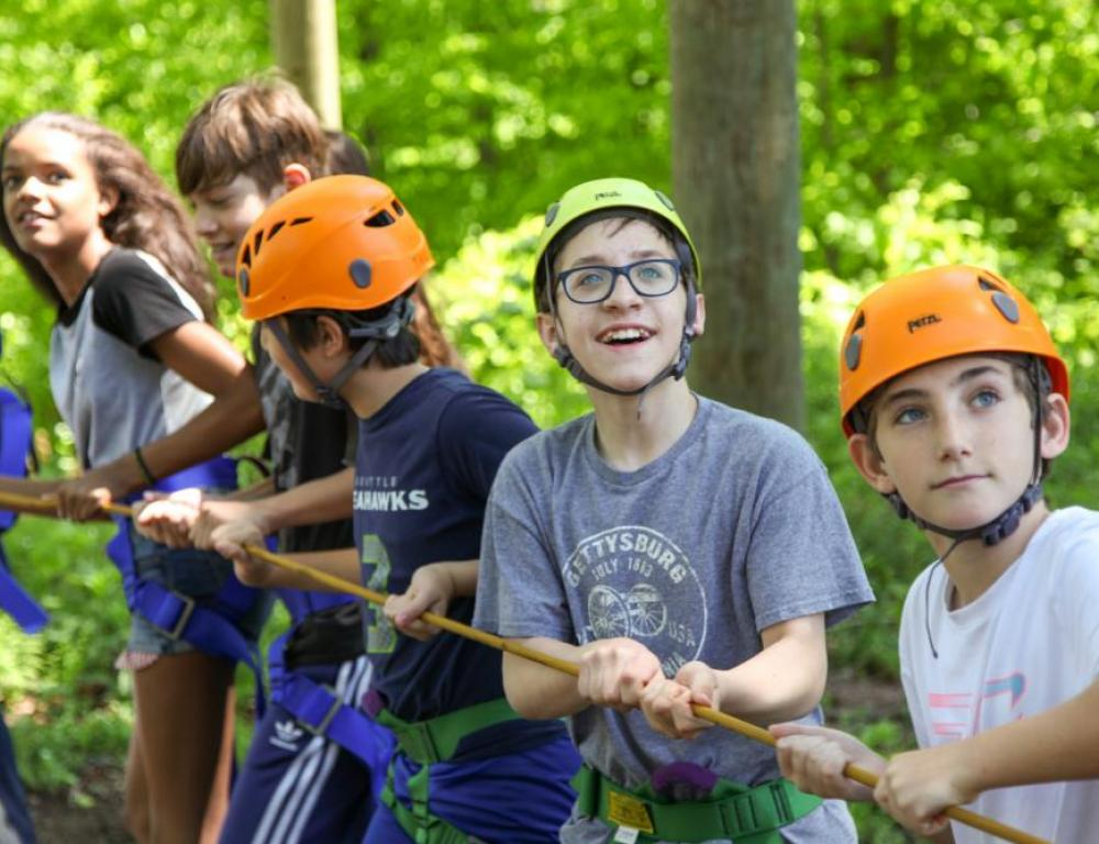 Outdoor Adventure Course & High Ropes Available