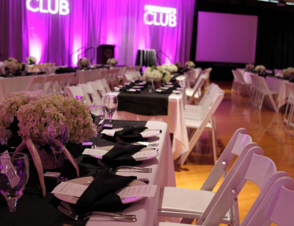 University Center Ballroom, President's Club Dinner