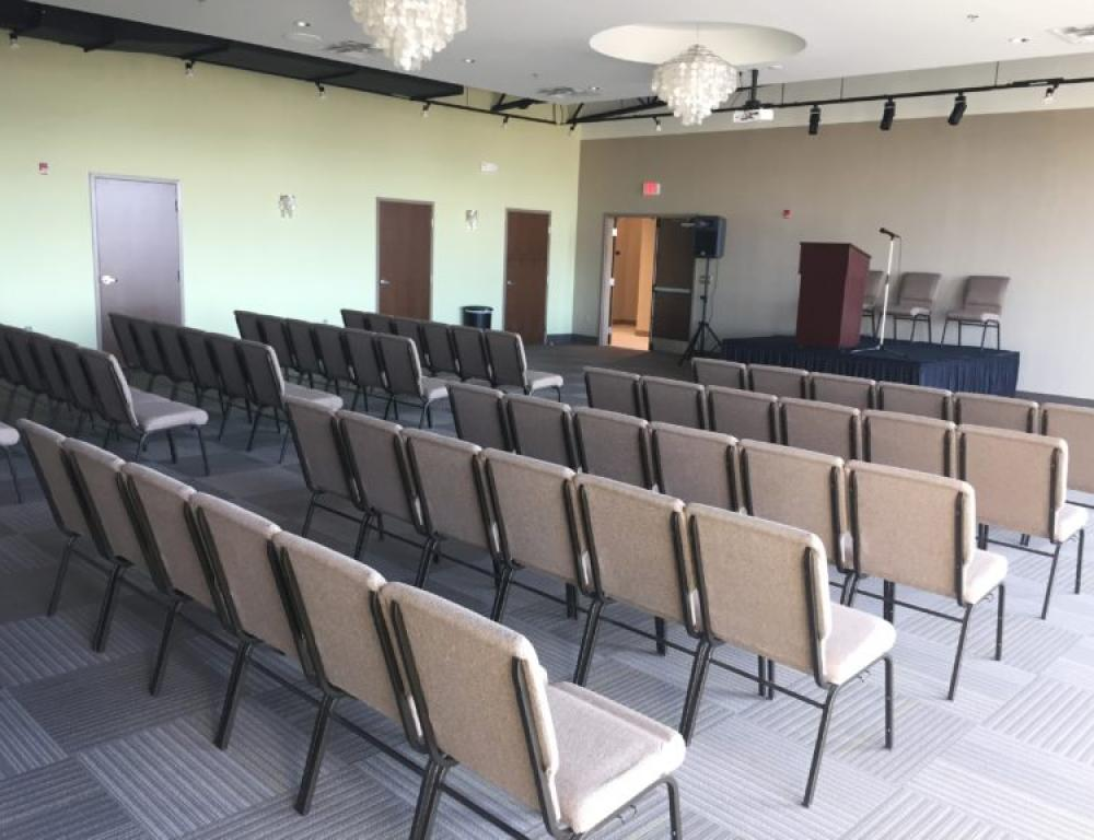 Corporate Events theater or classroom style