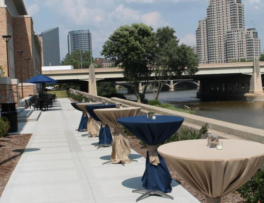 L. William Seidman Center - Outdoor Function Space