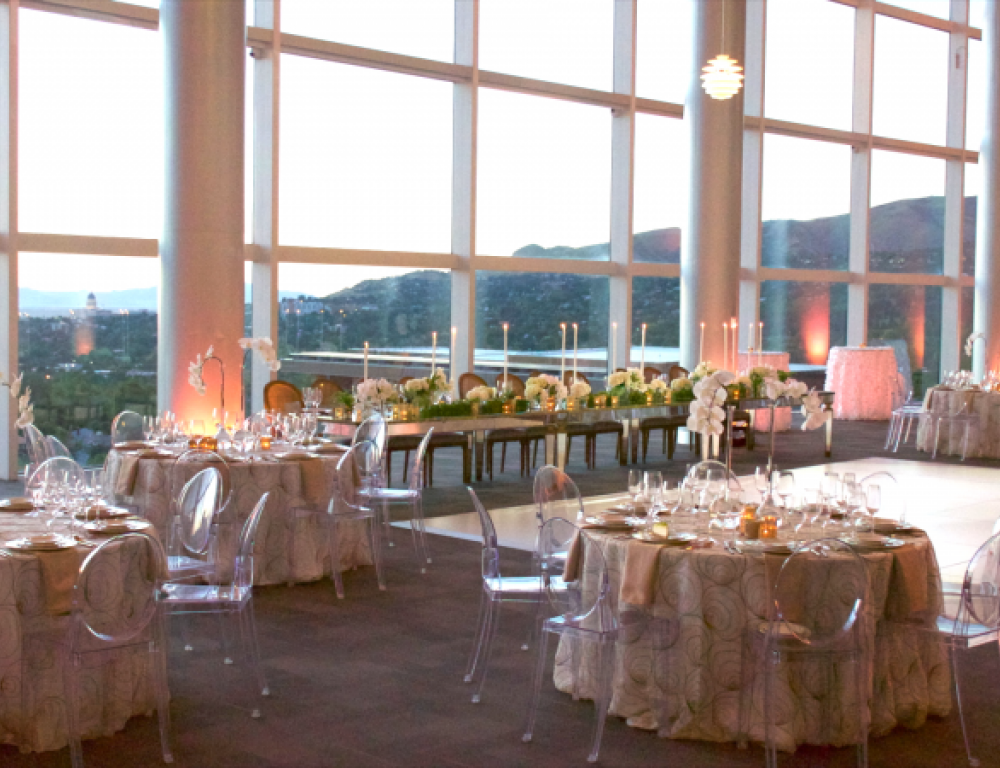 Scholarship Room, Wedding with a View