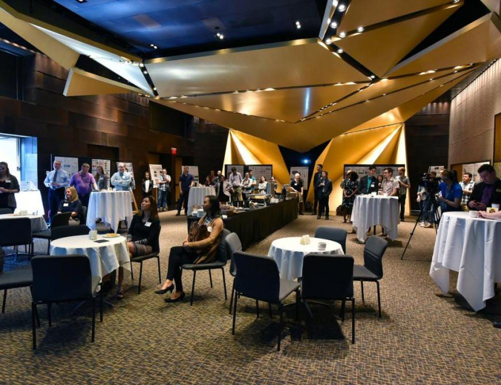 Johnson offers a great space for poster sessions and breakouts