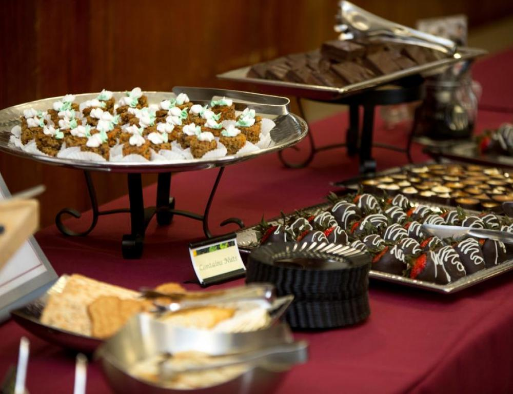 Have all of your events specially catered with our Dining Services vendor!