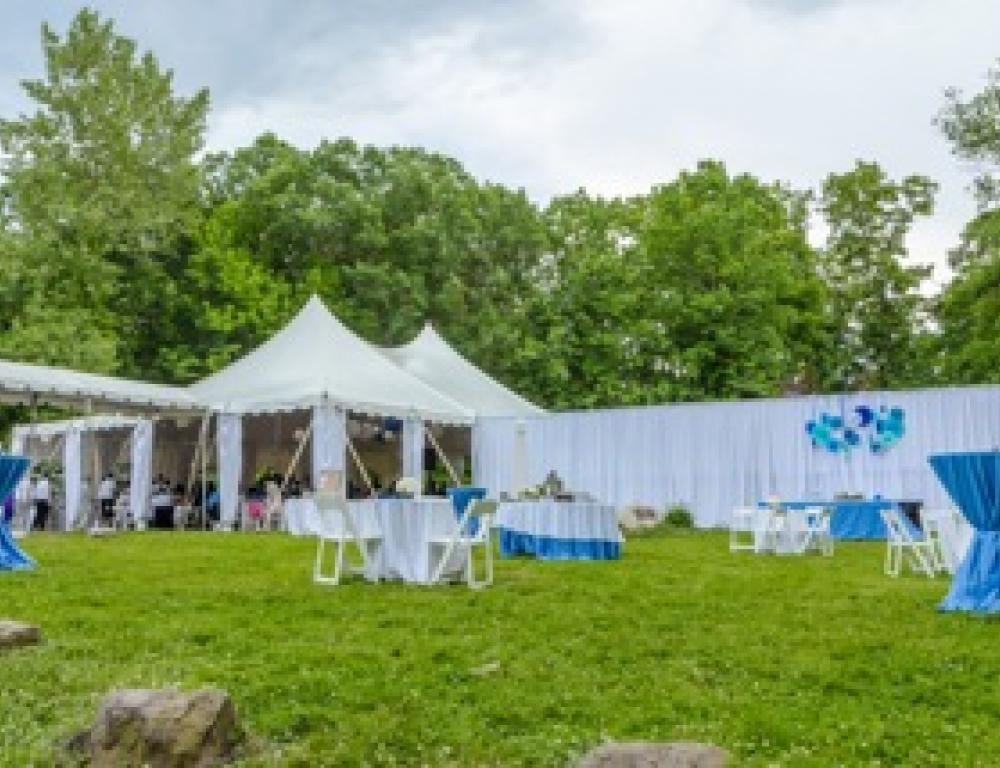Outdoors Tented Gatherings