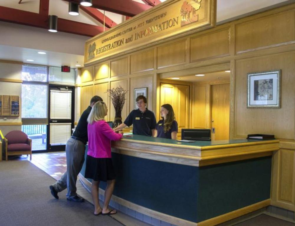 Living/Learning Center Front Desk