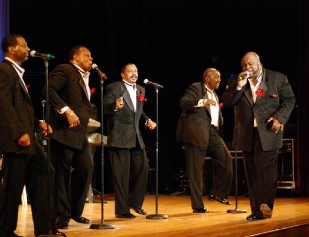 Even the Temptations loved performing at WCC
