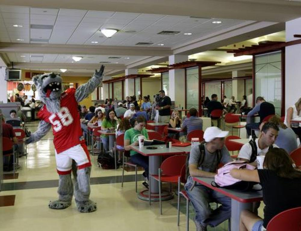 Student Union Dining Area
